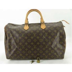 Louis Vuitton Speedy 40M41522 Monogram Hand Bag